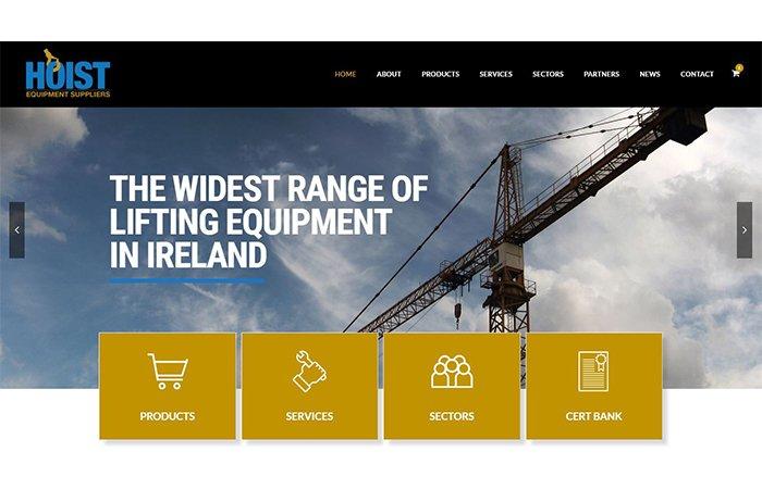 Hoistequip.ie: new site image