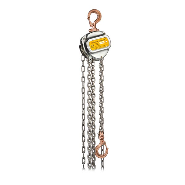 ATEX Manual Chain Hoist (Zone 1 & 2) 500kg x 3m