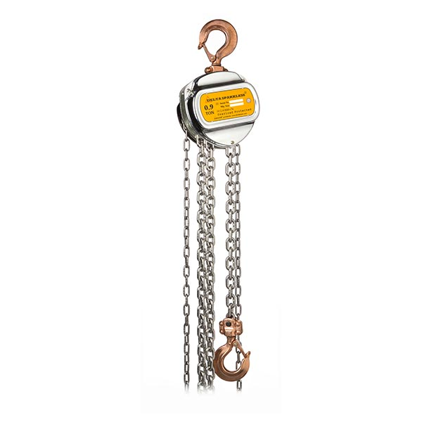 ATEX Manual Chain Hoist (Zone 1 & 2) 900kg x 3m