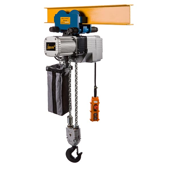 A3 - DF.0.DTY - DELTA Electric chain hoists with push trolley DTY type