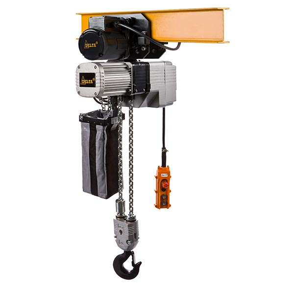 A4 - DF.0.DTD - DELTA Electric chain hoists with trolley DTD type
