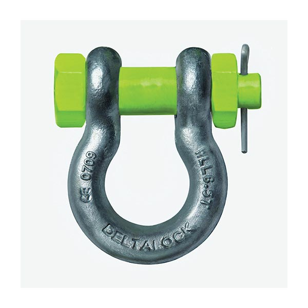 2.0 ton Screw Pin Bow Shackle Screw Pin Bow Shackle (US Fed Specification) Available from 0.50 ton to 85ton