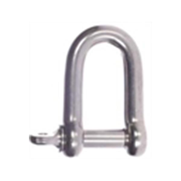 1 ton Stainless Steel D Shackle Stainless Steel Shackle. Available from 1 ton to 6 ton
