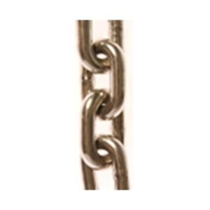 Chains in self colour, galvanised  Commercial short link